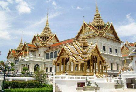 Тайланд на карте мира