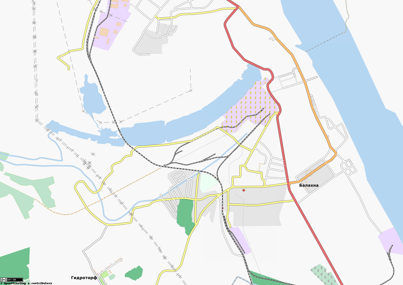 Волга пансионат нижегородская область на карте