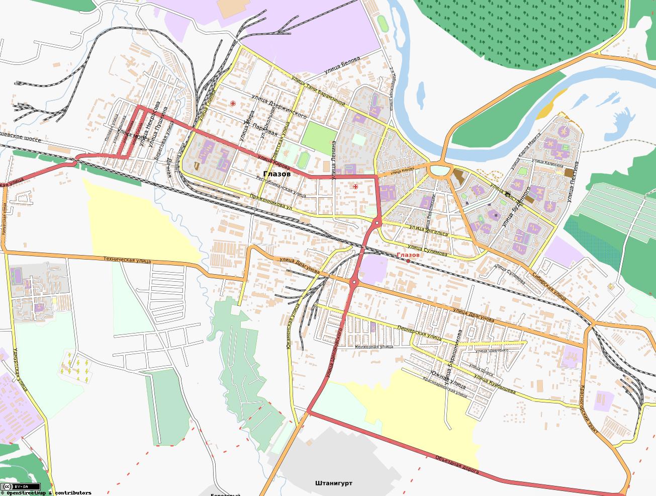 Карта Города Челябинска С Улицами