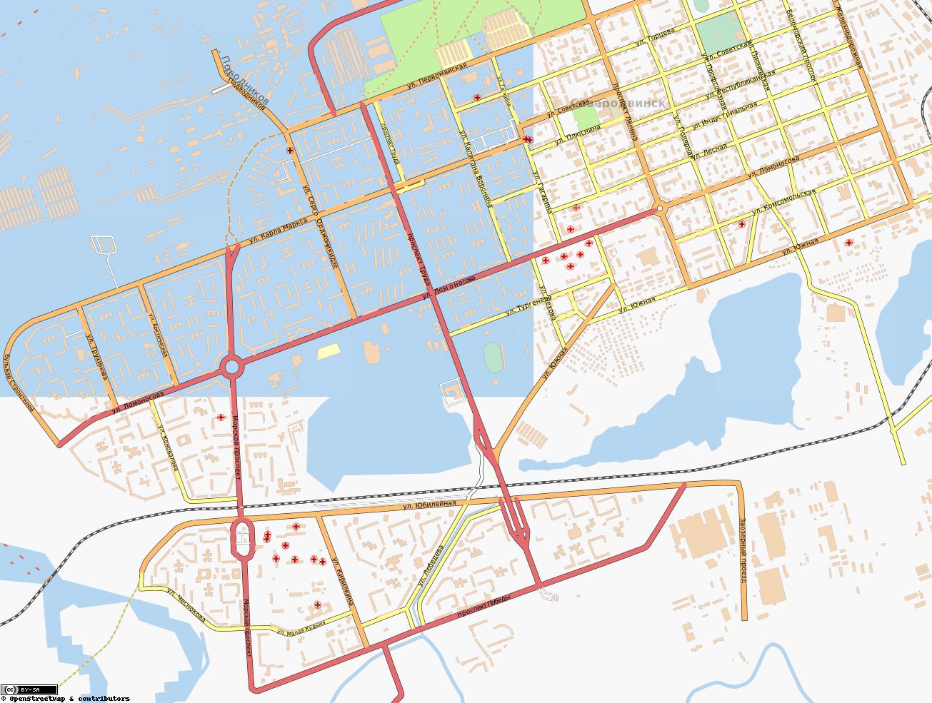 Карта Города Северодвинска С Улицами И Номерами Домов Скачать