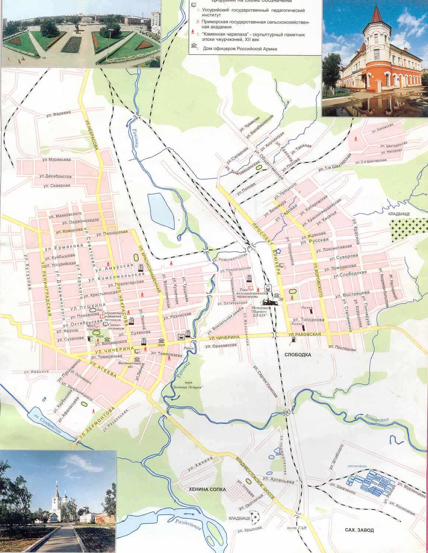 Карта города кимовск с улицами карты