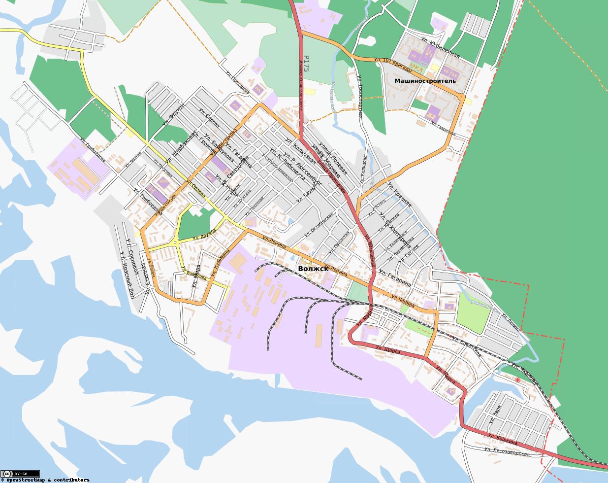 Автомобильная карта города