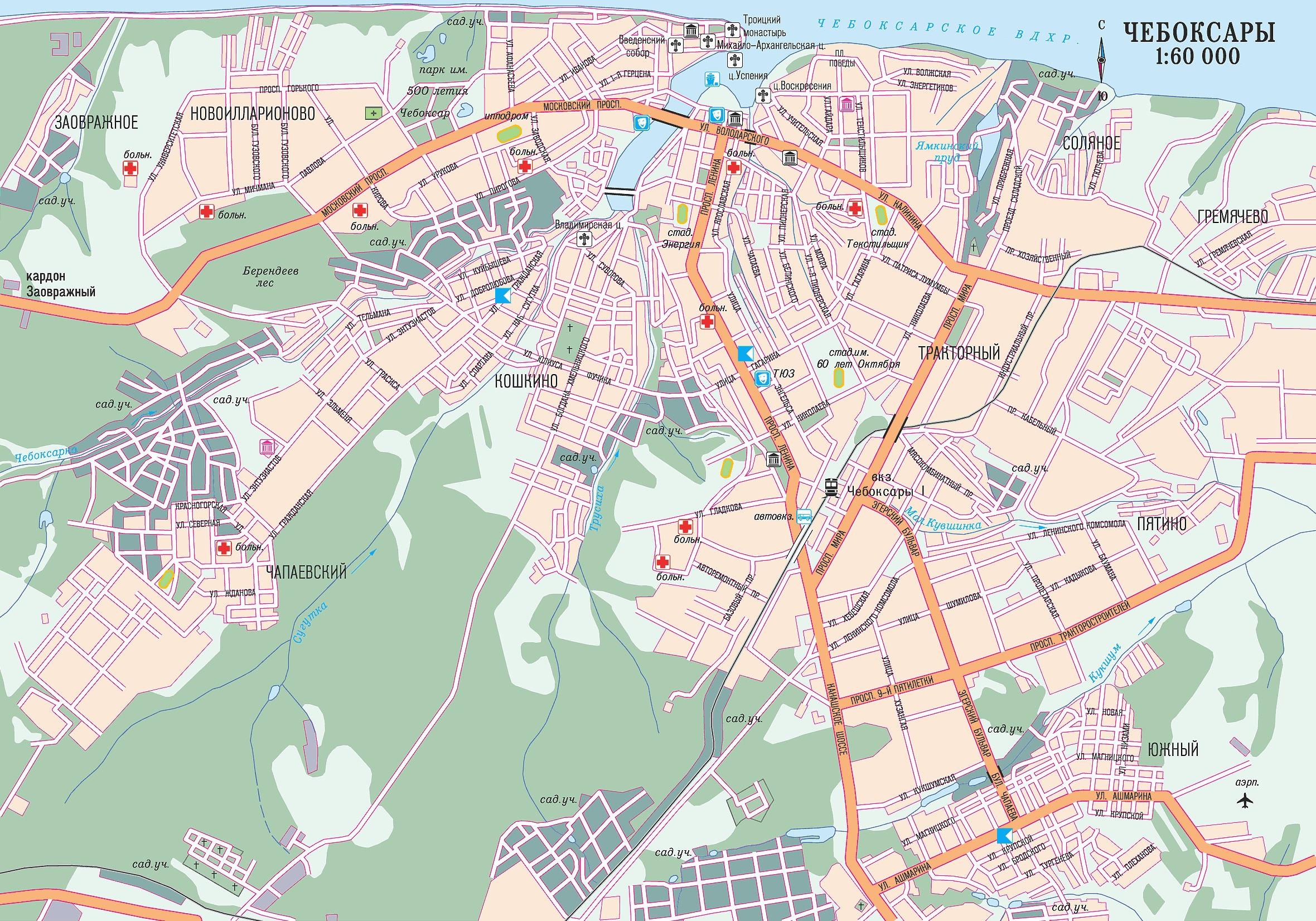 Чебоксары схема маршрутки