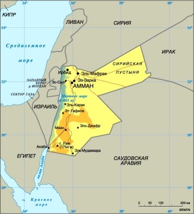 Где находиться амман