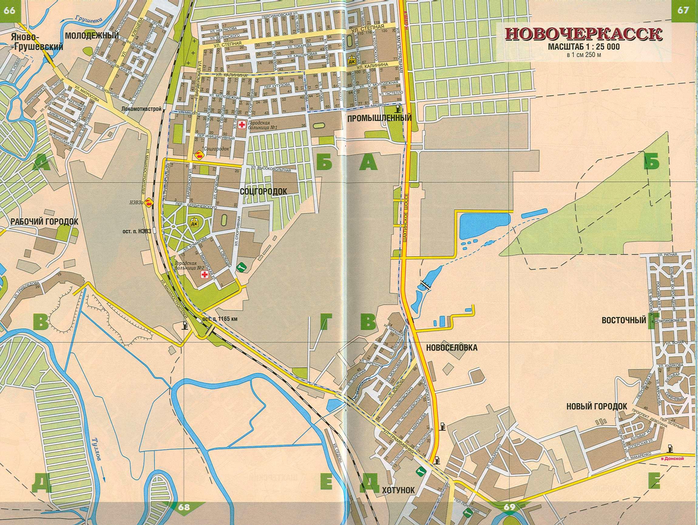 Местоположение на карте города