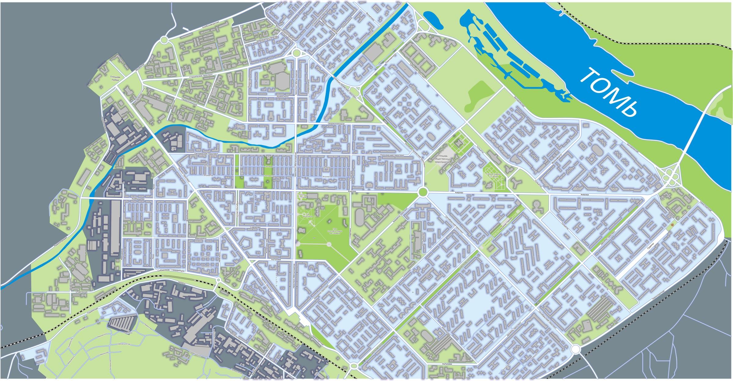 Карта Новокузнецка: улицы, дома и организации города — 2ГИС
