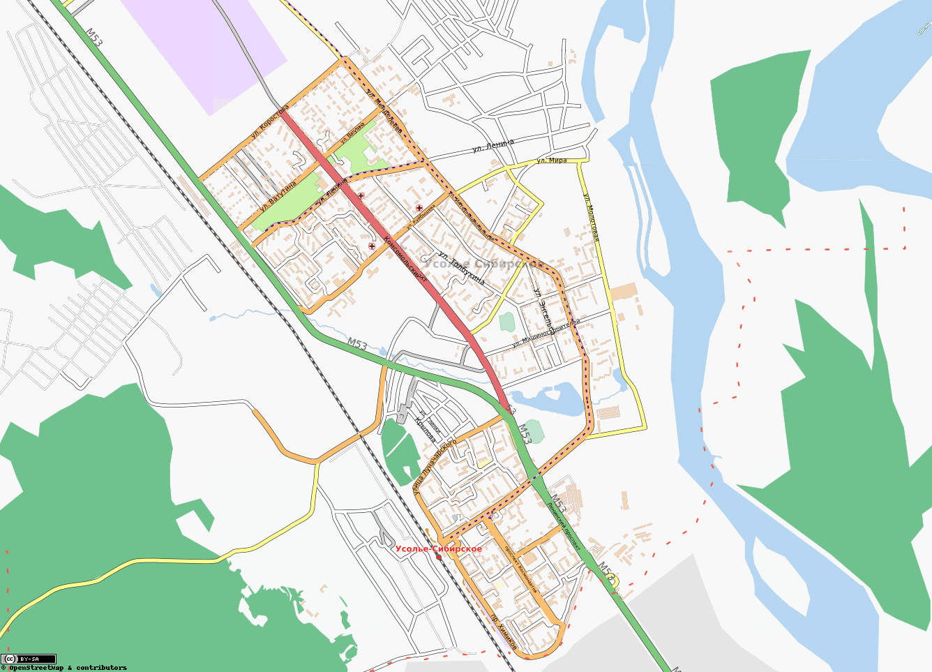 Карта Усолье Сибирское С Улицами И Номерами Домов