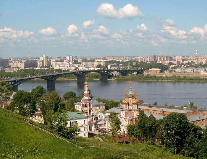 Нижний Новгород на карте России: kartoman.ru/nizhnij-novgorod-na-karte-rossii
