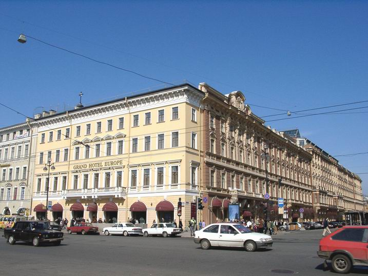 """гостиница """"Гранд Отель Европа"""" в 90-е годы"""