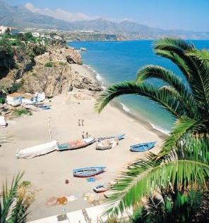 Карта Costa del Sol. Испанский Солнечный берег