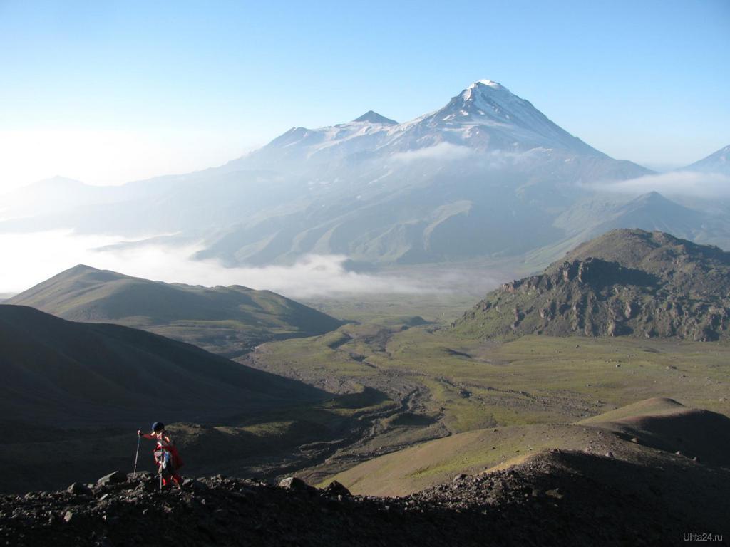 Вулканы Камчатки на карте
