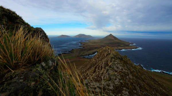 Фолклендские острова на карте