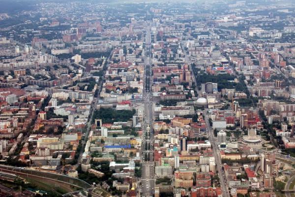 План Новосибирска. Интерактивная карта