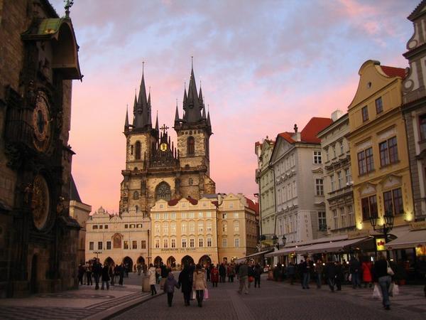 Общественный транспорт Праги. Карта