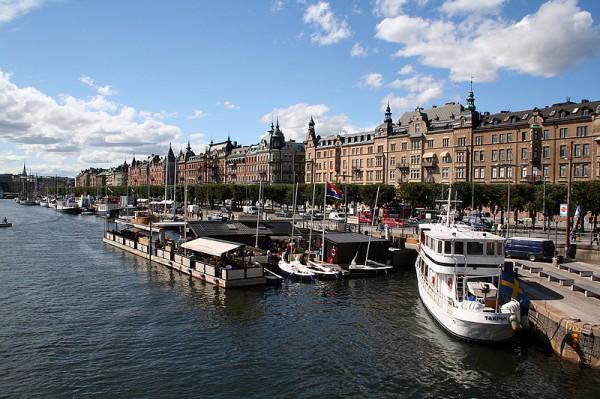 Карта Стокгольма туристическая с улицами