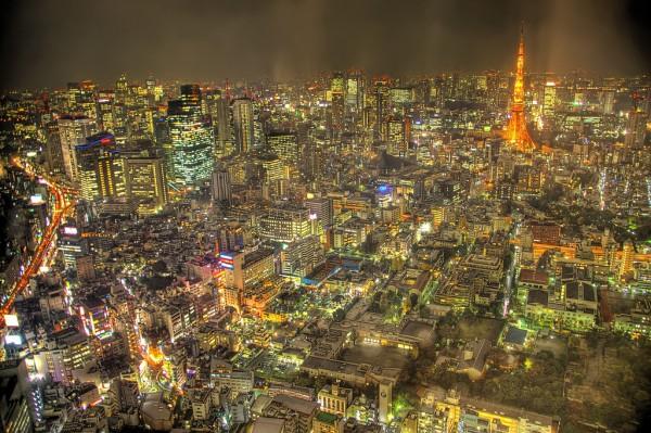 Токио панорама