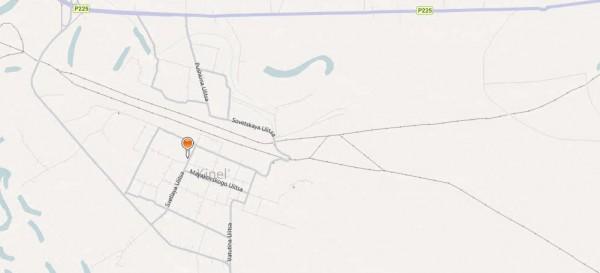 Карта города Кинель с улицами