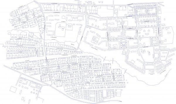 Карта Горнозаводска с улицами