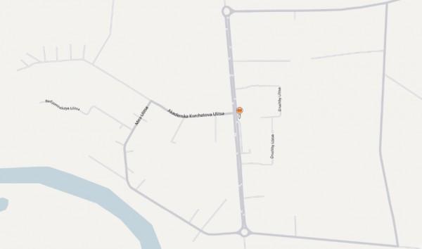 Карта города Агидель с улицами