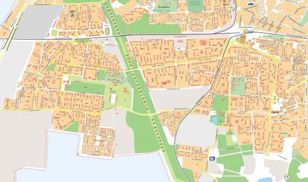 Карта города Королёв с улицами