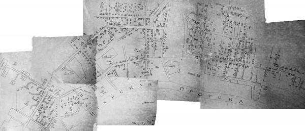 Карта Игарки с улицами