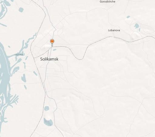 Карта Соликамска с улицами