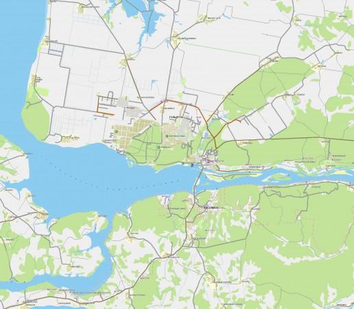 Карта Тольятти с улицами