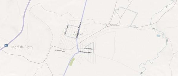 Карта Агрыза с улицами