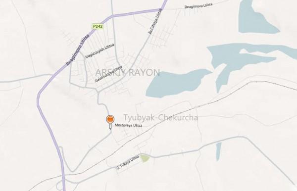 Карта Арска с улицами