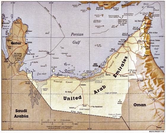 Туристические ОАЭ: там, где зимует лето