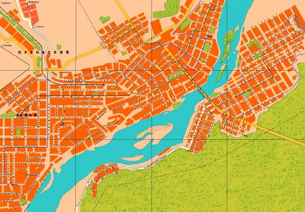 Бийск на карте России
