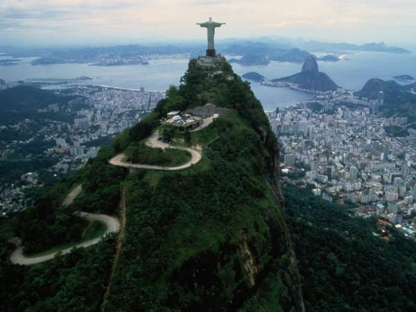 Карта Бразилии подробная