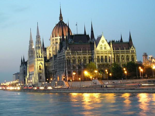 Венгрия на карте мира