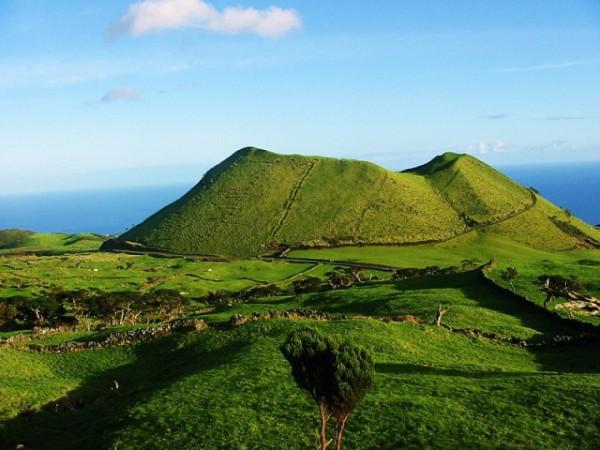 Азорские острова на карте