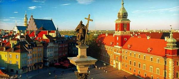Такая разная Варшава