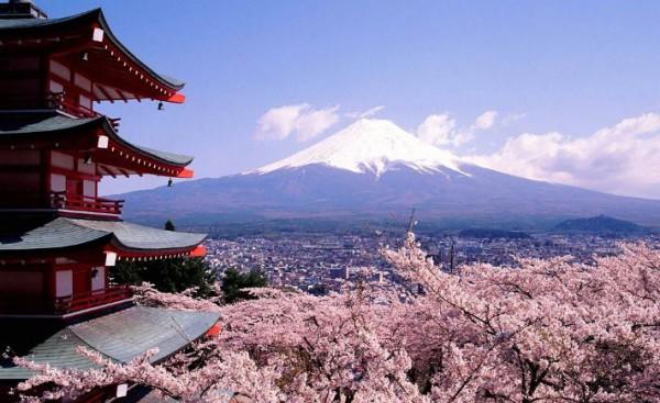Япония – гора Фудзи