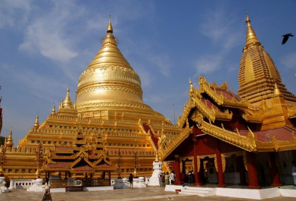 Бирма - один из центров буддийской культуры