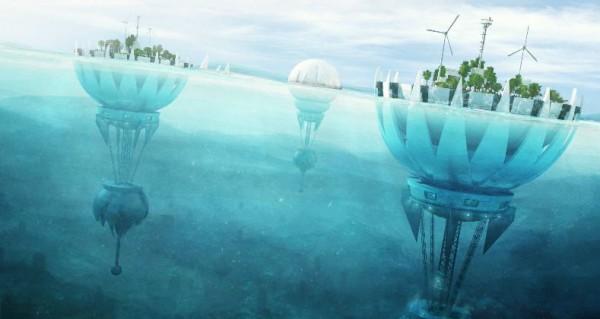 Атафона - город, уходящий под воду