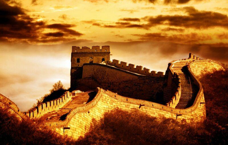 Великая китайская стена hdr