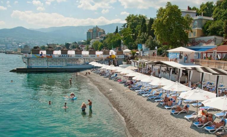 Значение пляжа при выборе места отдыха. Санаторий «Черноморский»